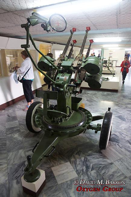 Anti Aircraft Gun, Invasion Museum - Giron Museum, Bay Of Pigs (1961)