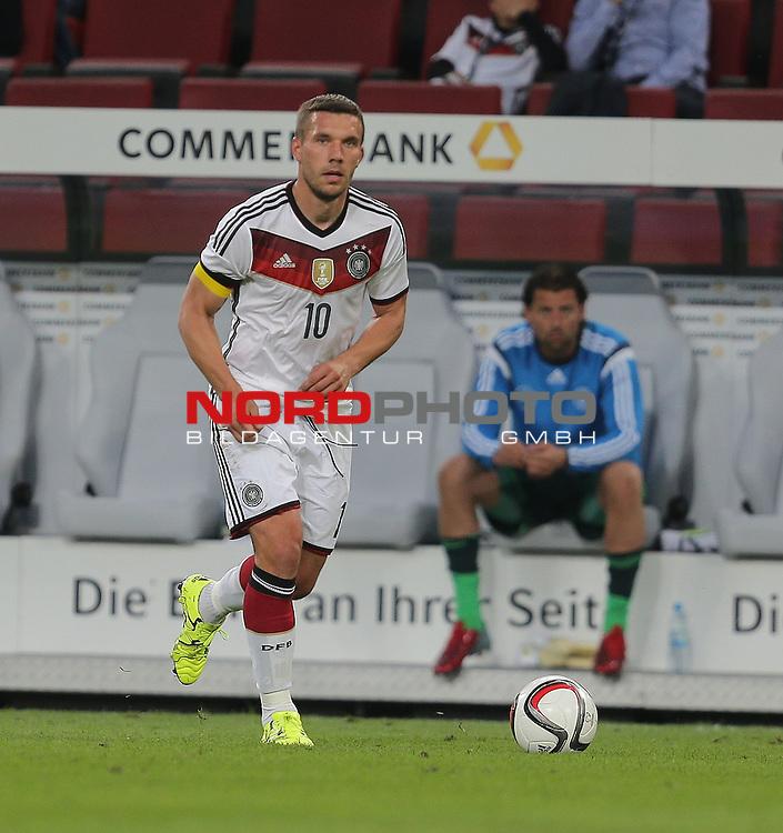 DFB Freundschaftsl&auml;nderspiel, Deutschland vs. USA<br /> Lukas Podolski (Deutschland)<br /> <br /> Foto &copy; nordphoto /  Bratic