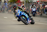 Scott Moir. The 2017 Suzuki series Cemetery Circuit motorcycle racing at Cooks Gardens in Wanganui, New Zealand on Tuesday, 27 December 2017. Photo: Dave Lintott / lintottphoto.co.nz