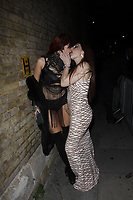 LONDON, ENGLAND - OCTOBER 05 :  Alexxa Vice and Roxirose attend the UKAP Awards 2018, at Pulse club on October 05, 2018 in London, England.<br /> CAP/AH<br /> &copy;AH/Capital Pictures