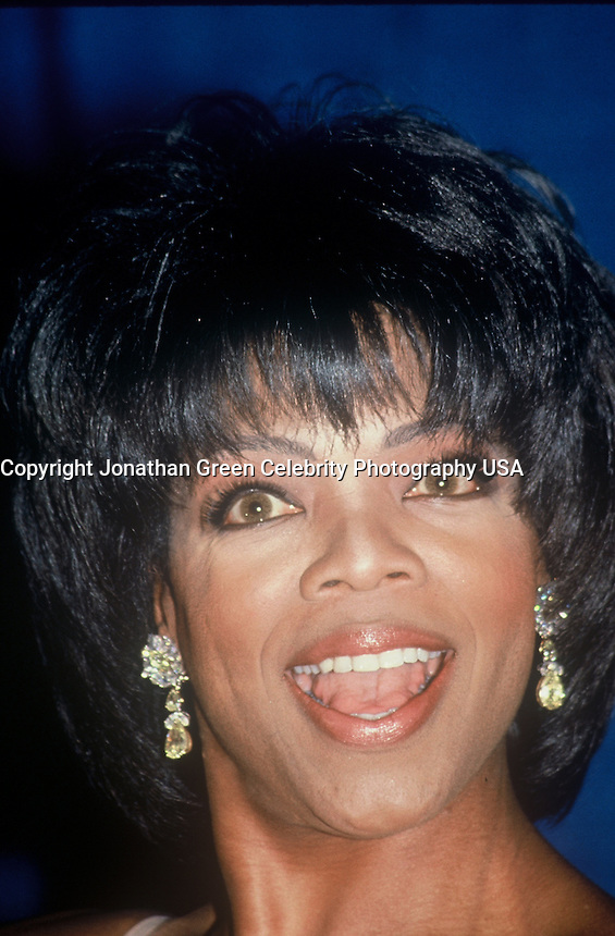 Oprah Winfrey at the 1994 Daytime Emmy Awards In NYC, where she won an award.