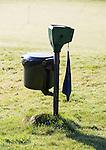 LOCHEM - prullenbak met ballenwasser. Lochemse golfclub de Graafschap in de winter. COPYRIGHT KOEN SUYK