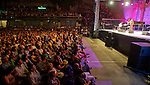 Performance of the singer Buika on the stage Plaza Trinidad during the 48 Heineken Jazzaldia