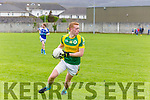 In Action   Mitchel's Captain Laurence Bastible in the Senior County Football League Div.1 Kerins O'Rahilly V John Mitchels at Kerins O'Rahillys on Sunday