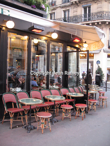 Parisian Cafe (Color)
