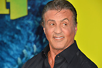 "LOS ANGELES, CA - August 06, 2018: Sylvester Stallone at the US premiere of ""The Meg"" at the TCL Chinese Theatre"