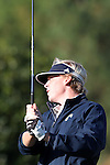 31 October 2016: UNCG's Jonathan Brightwell. The Third Round of the 2016 Bridgestone Golf Collegiate NCAA Men's Golf Tournament hosted by the University of North Carolina Greensboro Spartans was held on the West Course at the Grandover Resort in Greensboro, North Carolina.
