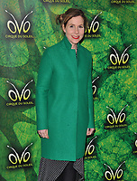 Sally Phillips at the OVO by Cirque du Soleil press night, Royal Albert Hall, Kensington Gore, London, England, UK, on Wednesday 10 January 2018.<br /> CAP/CAN<br /> &copy;CAN/Capital Pictures