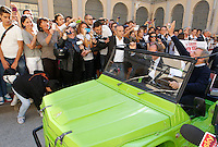 Anniversario omicidio del giornalista Giancarlo Siani trucidato dalla Camorra nel 1985<br /> nella foto   Luigi Ciotti
