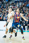 Achille Polonara and Gabriel Deck (l) during Real Madrid vs Kirolbet Baskonia game of Liga Endesa. 19 January 2020. (Alterphotos/Francis Gonzalez)