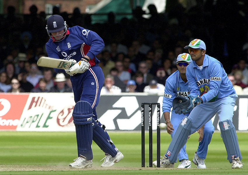 Photo Peter Spurrier.29/06/2002 .NatWest triangler Series England v India.Lord's .Ronnie Irani.