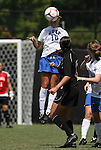 05 September 2009: Duke's Elisabeth Redmond. The Duke University Blue Devils played the University of Nevada Los Vegas Runnin' Rebels to a 0-0 tie after overtime at Koskinen Stadium in Durham, North Carolina in an NCAA Division I Women's college soccer game.