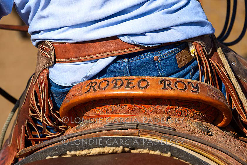 The cowboys nicknamed my dad 'Rodeo Roy' for being recognized as a the oldest champion team roper.