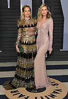 04 March 2018 - Los Angeles, California - Erin Foster, Sara Foster. 2018 Vanity Fair Oscar Party hosted following the 90th Academy Awards held at the Wallis Annenberg Center for the Performing Arts. <br /> CAP/ADM/BT<br /> &copy;BT/ADM/Capital Pictures