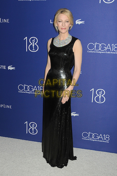 23 February 2016 - Beverly Hills, California - Cate Blanchett. 18th Annual Costume Designers Guild Awards held at the Beverly Hilton Hotel. <br /> CAP/ADM/BP<br /> &copy;BP/ADM/Capital Pictures