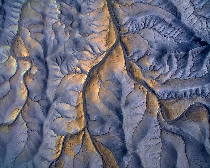 The badlands of Utah