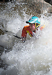 June 8, 2017 - Vail, Colorado, U.S. - New Zealand paddler, Courtney Kerin, during her qualifying performance on Gore Creek in the Freestyle Kayak competition during the GoPro Mountain Games, Vail, Colorado.  Adventure athletes from around the world meet in Vail, Colorado, June 8-11, for America's largest celebration of mountain sports, music, and lifestyle.