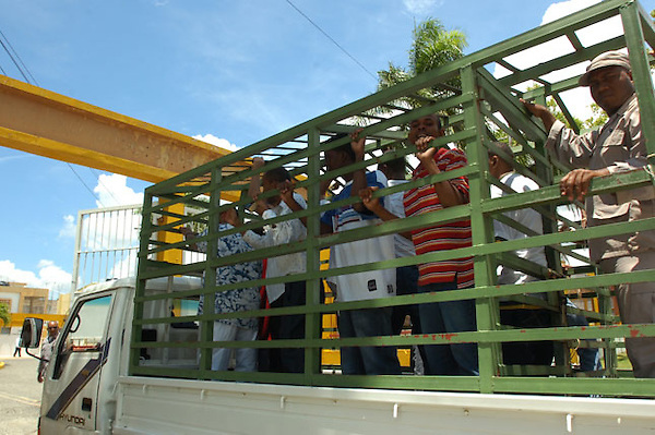 Carcel publica de najayo..Santo Domingo Republica Dominicana.Foto:Cesar de la Cruz.Fecha:26/05/2008