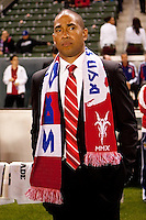 CD Chivas USA headcoach Robin Fraser. Sporting KC defeated CD Chivas USA 3-2 at Home Depot Center stadium in Carson, California on Saturday March 19, 2011...