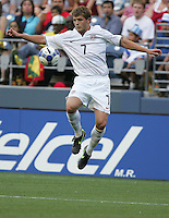 Robbie Rogers brings down the ball. USA defeated Grenada 4-0 during the First Round of the 2009 CONCACAF Gold Cup at Qwest Field in Seattle, Washington on July 4, 2009.