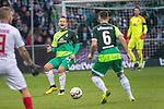 10.02.2019, Weser Stadion, Bremen, GER, 1.FBL, Werder Bremen vs FC Augsburg, <br /> <br /> DFL REGULATIONS PROHIBIT ANY USE OF PHOTOGRAPHS AS IMAGE SEQUENCES AND/OR QUASI-VIDEO.<br /> <br />  im Bild<br /> Philipp Bargfrede (Werder Bremen #44)<br /> Kevin M&ouml;hwald / Moehwald (Werder Bremen #06)<br /> <br /> <br /> Foto &copy; nordphoto / Kokenge