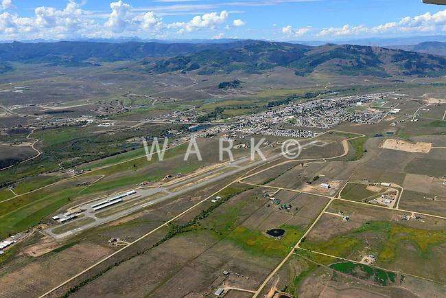 Granby,  Colorado. Airport. Sept 2, 2013. 82549