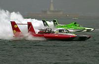 U-3, driver Mitch Evans..Hydros-PROP Bayfair,San Diego,CA,USA 9.17.2000.©F.Peirce Williams 2000.