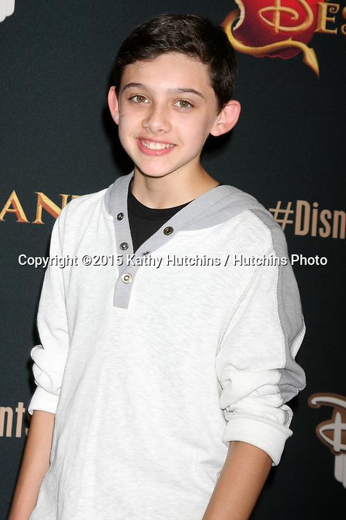"LOS ANGELES - JUL 24:  Felix Avitia at the ""Descendants"" Premiere Screening at the Walt Disney Studios on July 24, 2015 in Burbank, CA"