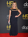 Lauren Woodland  125 arrives at the 23rd Annual Hollywood Film Awards at The Beverly Hilton Hotel on November 03, 2019 in Beverly Hills, California