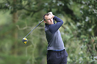 Tony O'Leary (Rosslare) during the final of the Irish Mid-Amateur Open Championship, Royal Belfast Golf CLub, Hollywood, Down, Ireland. 29/09/2019.<br /> Picture Fran Caffrey / Golffile.ie<br /> <br /> All photo usage must carry mandatory copyright credit (© Golffile   Fran Caffrey)