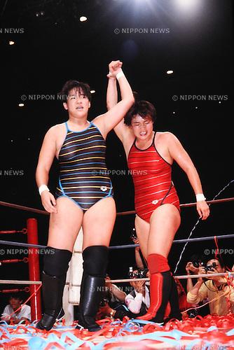 All Japan Women's Pro-Wrestling event | Nippon News