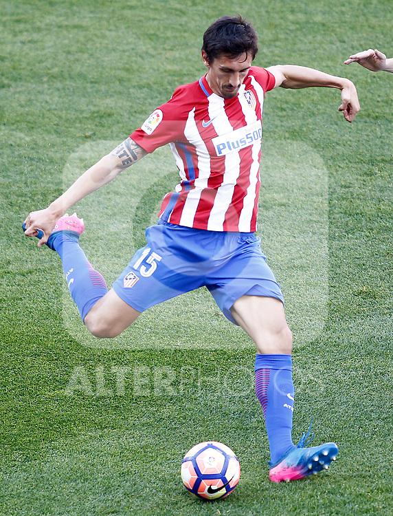 Atletico de Madrid's Stefan Savic during La Liga match. March 19,2017. (ALTERPHOTOS/Acero)