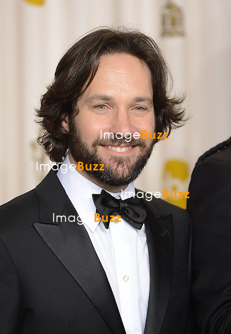 Paul Rudd at the 85th Academy Awards at the Dolby Theatre, Los Angeles.
