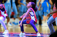 Washington, DC - September 8, 2019: Mystics Mayhem dancer Casey Belle performs during game between the Chicago Sky and Washington Mystics at the Entertainment and Sports Arena in Washington, DC. The Mystics locked up the #1 seed in the Playoffs by defeating the Sky 100-86. (Photo by Phil Peters/Media Images International)