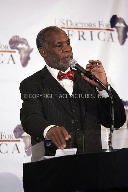 WWW.ACEPIXS.COM . . . . . ....April 16 2009, LA....Actor Danny Glover at a US Doctors for Africa press conference announcing the African First Ladies' Health Summit & Gala at the Beverly Hilton Hotel on April 16, 2009 in Beverly Hills, California.....Please byline: JOE WEST- ACEPIXS.COM.. . . . . . ..Ace Pictures, Inc:  ..(646) 769 0430..e-mail: info@acepixs.com..web: http://www.acepixs.com