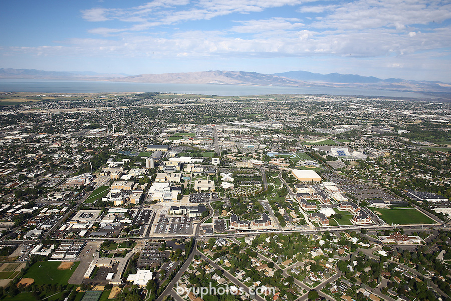 1309-22 1290<br /> <br /> 1309-22 BYU Campus Aerials<br /> <br /> Brigham Young University Campus, Provo, <br /> <br /> East Campus at Sunrise, East looking West, Provo, <br /> <br /> September 6, 2013<br /> <br /> Photo by Jaren Wilkey/BYU<br /> <br /> &copy; BYU PHOTO 2013<br /> All Rights Reserved<br /> photo@byu.edu  (801)422-7322