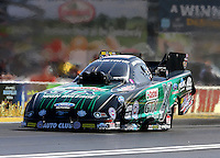 Mar 28, 2014; Las Vegas, NV, USA; NHRA funny car driver John Force during qualifying for the Summitracing.com Nationals at The Strip at Las Vegas Motor Speedway. Mandatory Credit: Mark J. Rebilas-USA TODAY Sports