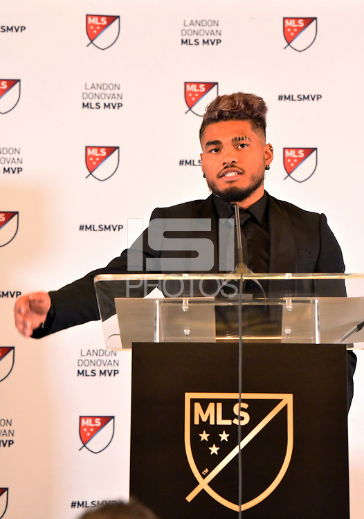 Atlanta, Georgia - Wednesday, December 5, 2018. Atlanta United forward Josef Martinez was given the Major League Soccer 2018 Landon Donovan Most Valuable Player Award, announced today by the league office.