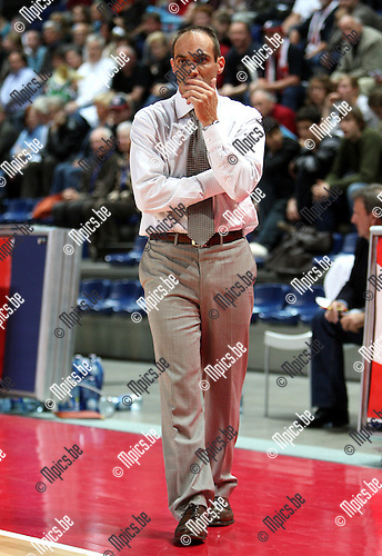 2007-10-20 / Basketbal / Antwerp Giants - Bergen / Sven Van Camp (Antwerp)