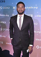 LOS ANGELES - DECEMBER 1:  Jussie Smollett at The The Black AIDS Insitute 2018 Hosts Heroes in The Struggle Gala at The California African-American Museum on December 1, 2018 in Los Angeles, California. (Photo by Scott Kirkland/Fox/PictureGroup)