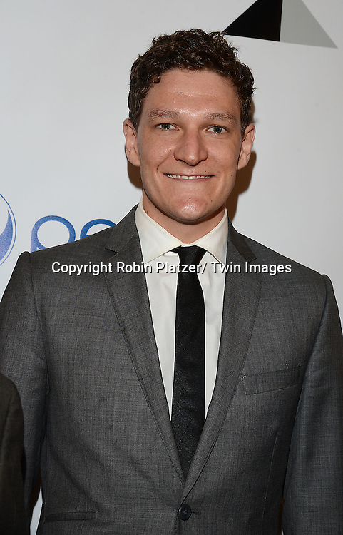 Gabriel Ebert attends the 80th Annual Drama League Awards Ceremony and Luncheon on May 16, 2014 at the Marriot Marquis Hotel in New York City, New York, USA.
