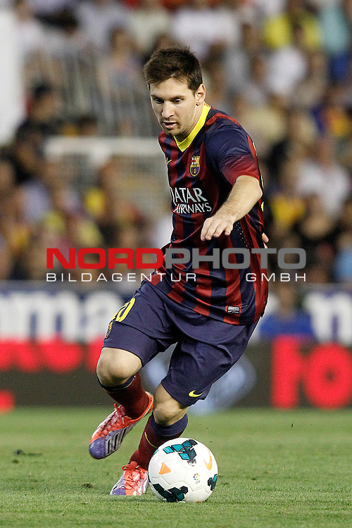 FC Barcelona's Leo Messi during La Liga match.September 1,2013. Foto © nph / Acero)
