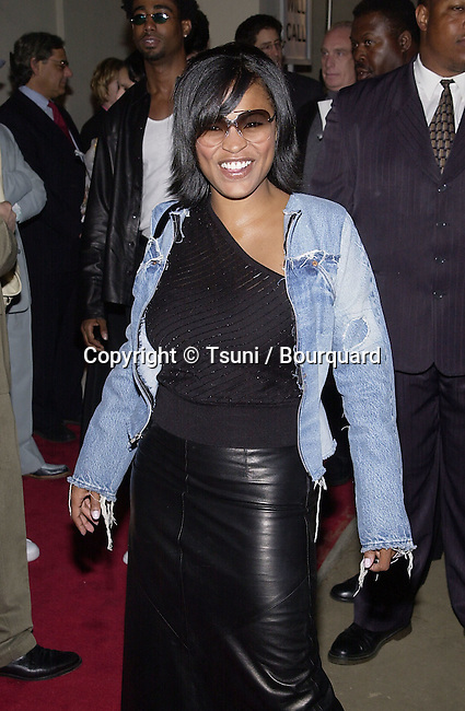 "Nia Long arriving at the premiere of "" Kingdom Come""  at the Writer Guild Awards in Los Angeles  4/4/2001   © Tsuni          -            LongNia02.jpg"