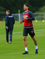 Pictured: Federico Fernandez in action. Tuesday 11 July 2017<br /> Re: Swansea City FC training at Fairwood training ground, UK