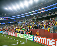 Gillette Stadium was filled for an International friendly match Brazil defeated Portugal, 3-1, at Gillette Stadium on Sep 10, 2013.