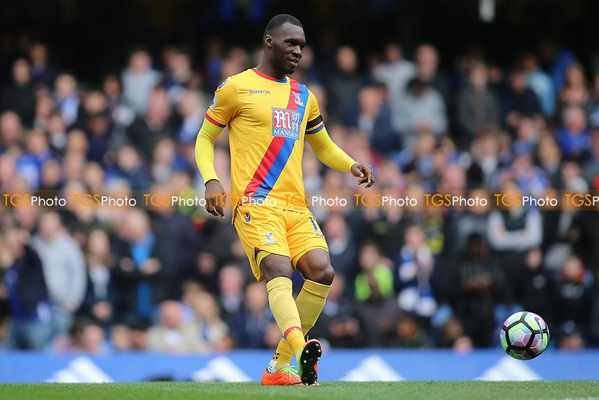 Christian Benteke of Crystal Palace during Chelsea vs Crystal Palace, Premier League Football at Stamford Bridge on 1st April 2017