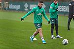 17.01.2020, Trainingsgelaende am wohninvest WESERSTADION,, Bremen, GER, 1.FBL, Werder Bremen Training ,<br /> <br /> <br />  im Bild<br /> Milot Rashica (Werder Bremen #07)<br /> Milos Veljkovic (Werder Bremen #13)<br /> <br /> <br /> Foto © nordphoto / Kokenge