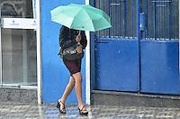 SAO BERNARDO DO CAMPO, SP, 02 DE JANEIRO DE 2013. Chuva atinge a regiao do Rudge Ramos, Sao Bernardo do Campo, no ABC paulista, na tarde desta quarta feira, 02. (FOTO: ALEXANDRE MOREIRA / BRAZIL PHOTO PRESS).