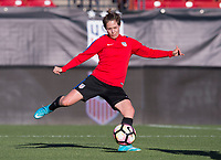 Frisco, TX - April 5, 2017: The USWNT trains in preparation for a friendly against Russia at Toyota Stadium.