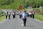 An Orange Order march at Oldbridge the site of the battle of the Boyne in 1690. Photo: Colin Bell/pressphotos.ie